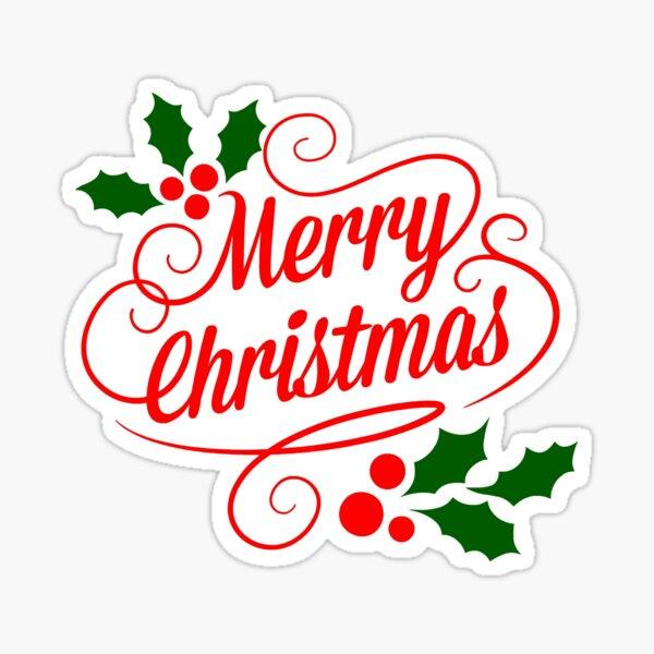 MERRY CHRISTMAS 1 Sticker