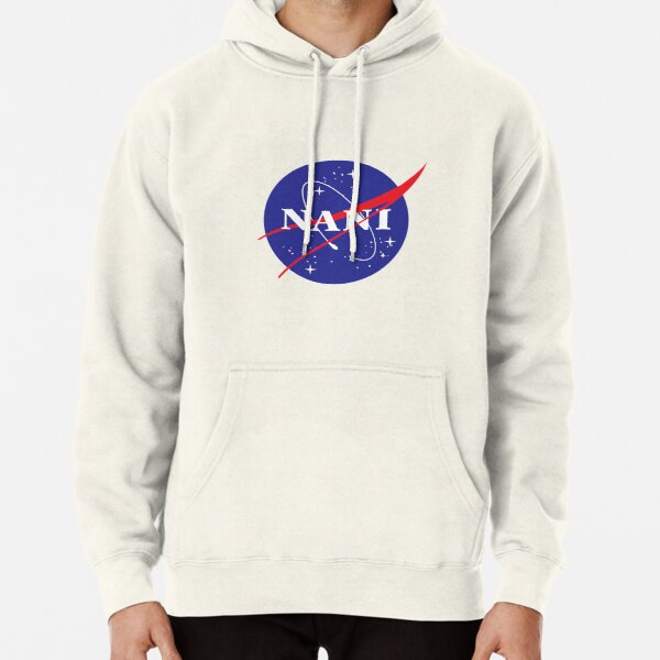 Logo NANI NASA Sweat à capuche épais