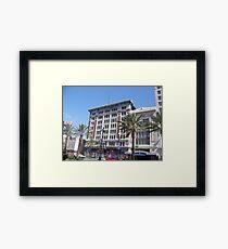 Canal Street Buildings Framed Print