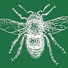 Bee (Green) by MissElaineous Designs