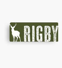 Deer: Rigby, Idaho Canvas Print