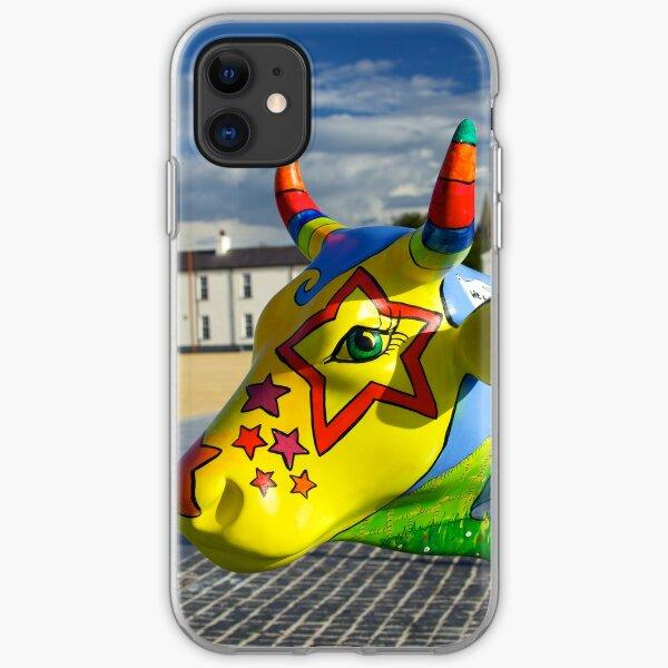 Play Trail - Asperations Cow, Ebrington iPhone Soft Case