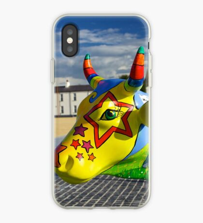 Play Trail - Asperations Cow, Ebrington iPhone Case