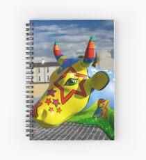 Play Trail - Asperations Cow, Ebrington Spiral Notebook
