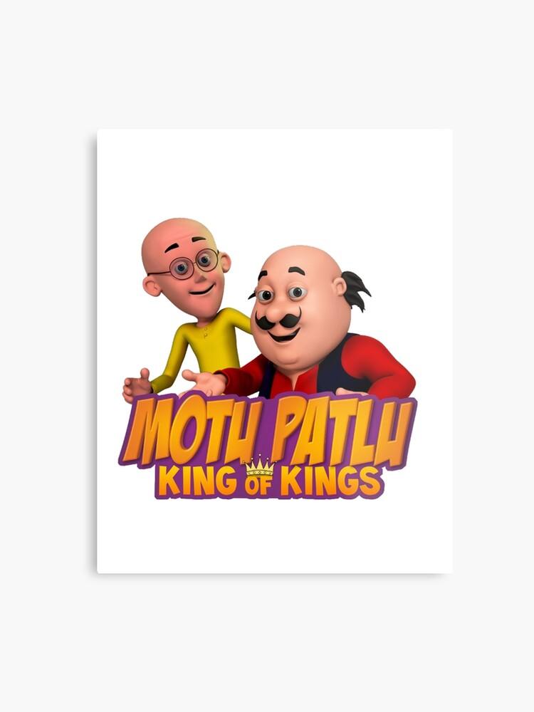 Motu Patlu, King of Kings - Best Anime Ever | Metal Print