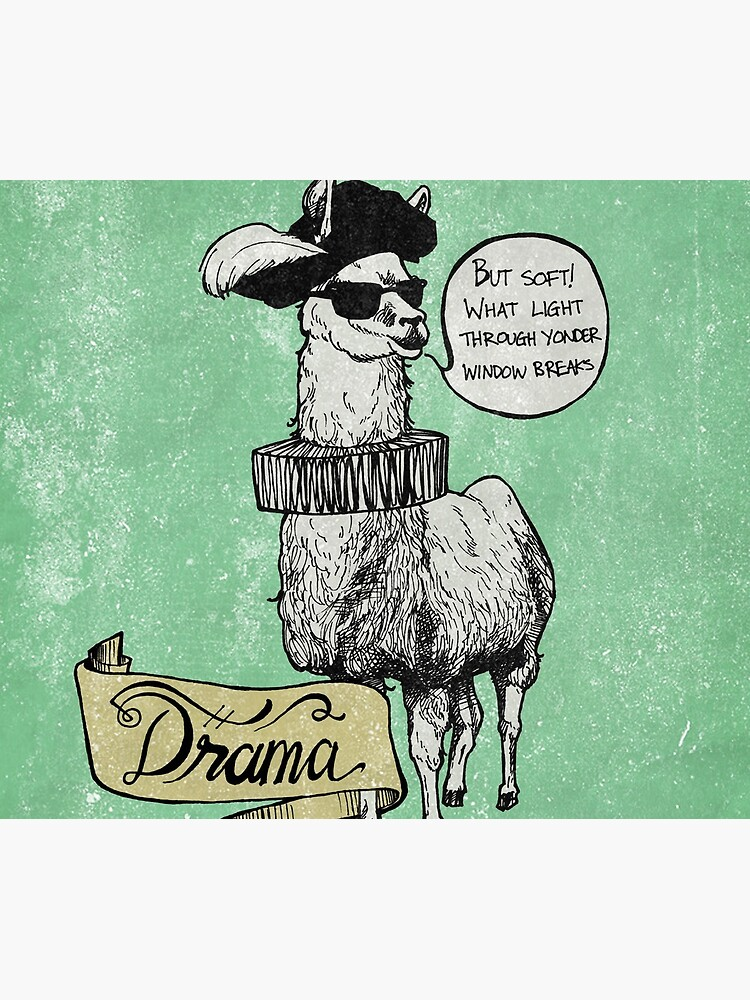 Drama Llama by anonimose