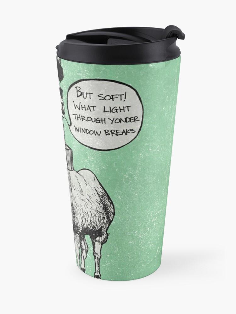 Alternate view of Drama Llama Travel Mug