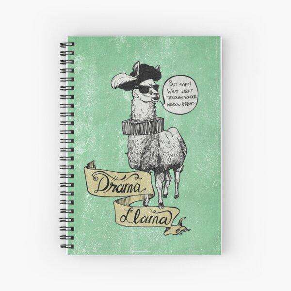 Drama Llama Spiral Notebook