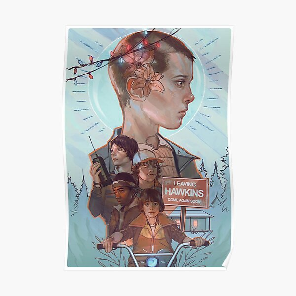 Stranger Things Is Cool Poster