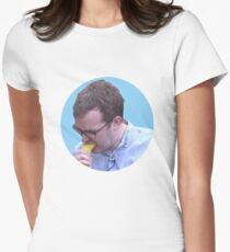 Griffin Mcelroy Vores a Banana Women's Fitted T-Shirt