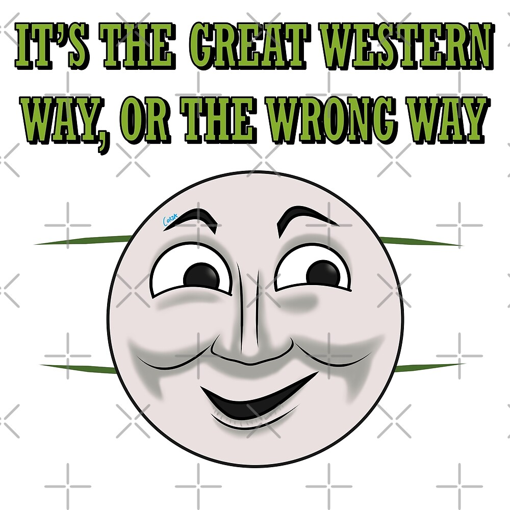 Only the Great Western way  by corzamoon
