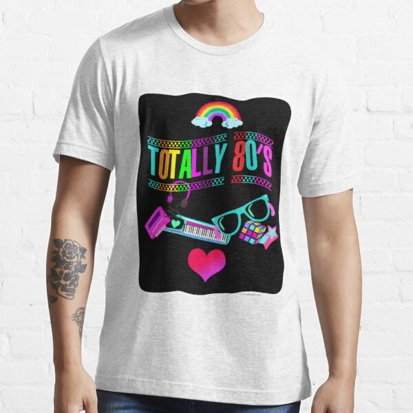 Totally 80's Fun Neon Essential T-Shirt