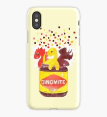 Dino-Mite Vegemite iPhone Case