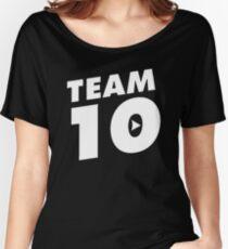Official Jake Paul © Merch- Team 10 Women's Relaxed Fit T-Shirt