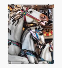 Vintage Horse Carousel Merry-Go-Round Carnival Ride  iPad Case/Skin