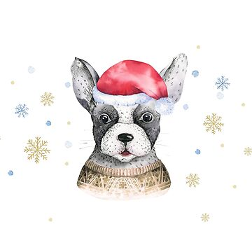 Christmas dog by dogobsession