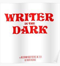writer in the dark Poster