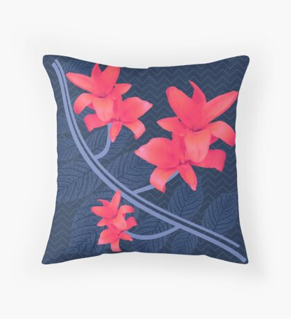 The Pink Wanderers Story Throw Pillow