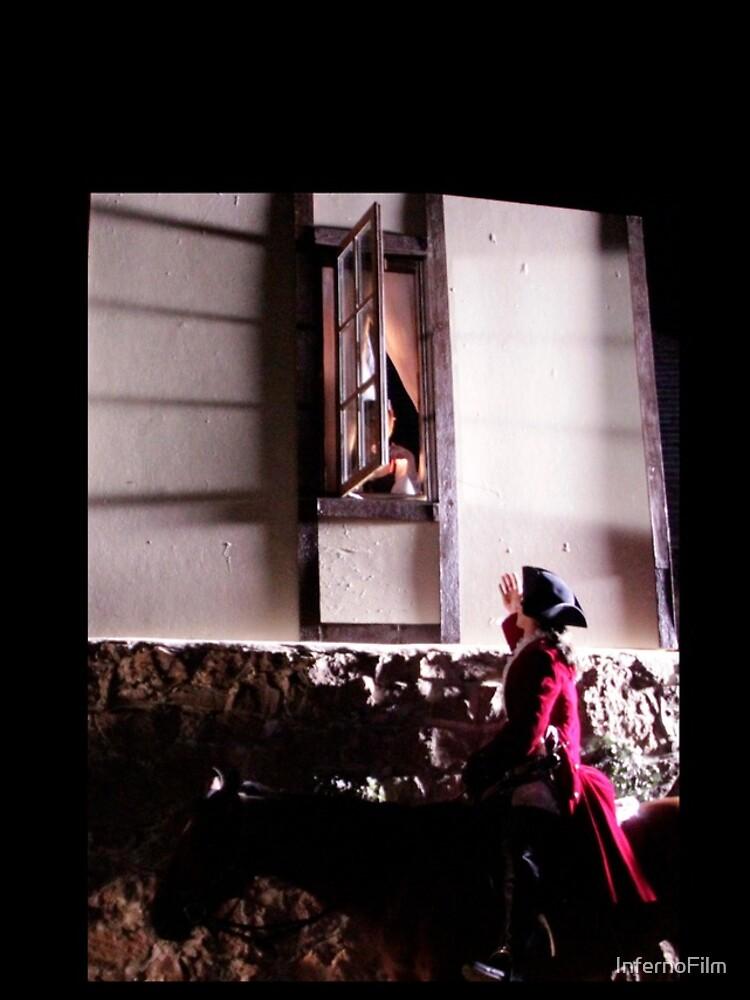 The Highwayman at Bess' Window by InfernoFilm