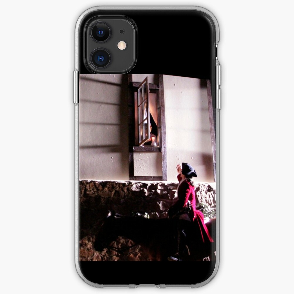 The Highwayman at Bess' Window iPhone Case & Cover