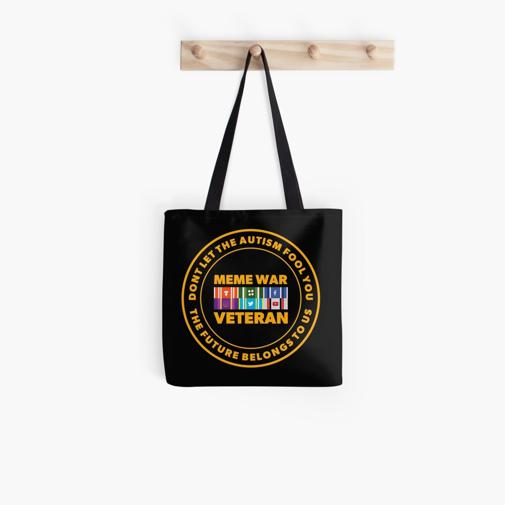 MEME WAR VETERAN Tote Bag