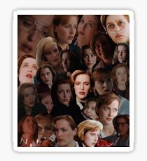 Scully Collage Sticker