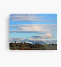 Layers of Cloud Metal Print