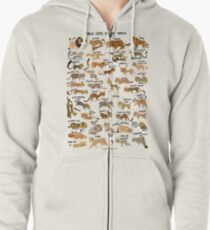 Wildkatzen der Welt Kapuzenjacke