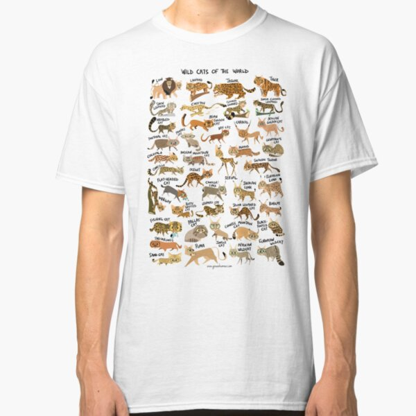 Wild Cats of the World Classic T-Shirt