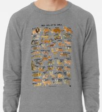Wild Cats of the World Lightweight Sweatshirt
