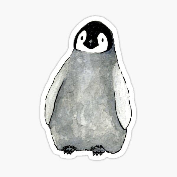 Pingüino Pegatina