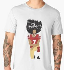 Colin Kaepernick Kneeling - I'm With Kap Men's Premium T-Shirt