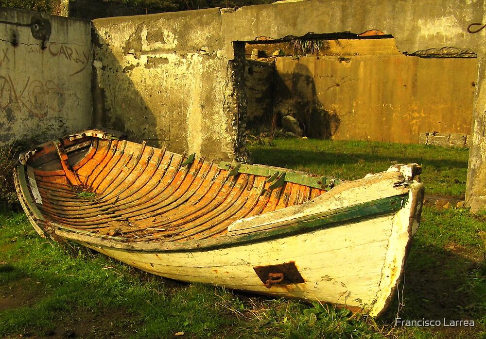 The boat. by Francisco Larrea