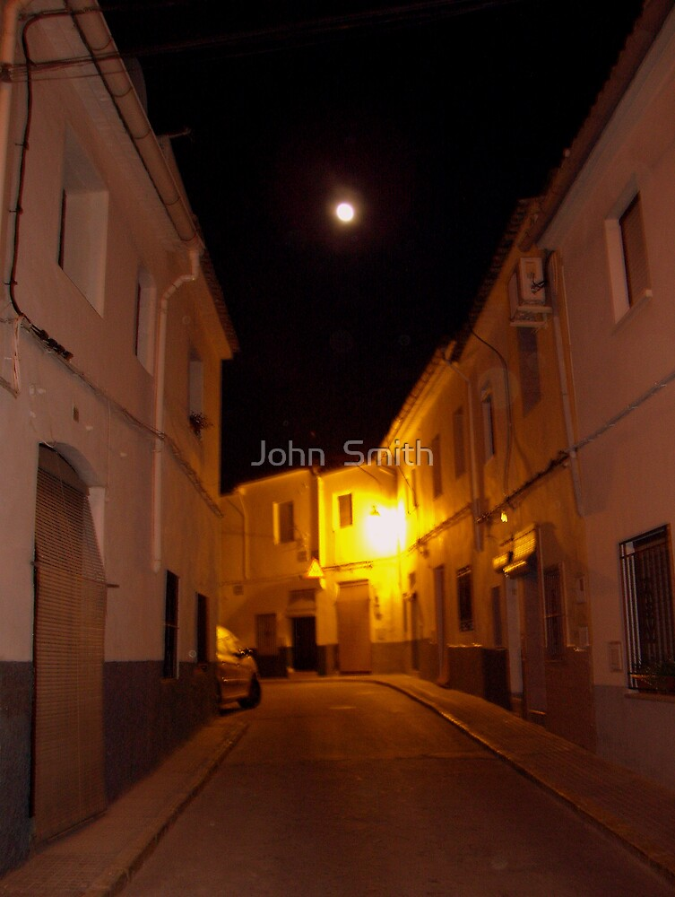 """""""Full Moon."""" by John  Smith"""