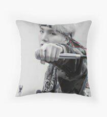 SUGA Mic Drop  Throw Pillow