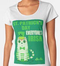 HAPPY ST PATRICKS DAY Women's Premium T-Shirt