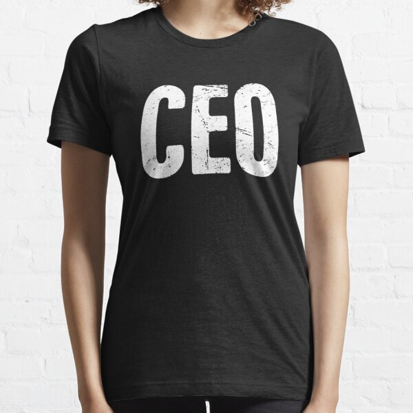 CEO | Entrepreneur Boss Design Essential T-Shirt