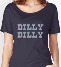 Dilly Dilly - Cowboys Women's Relaxed Fit T-Shirt
