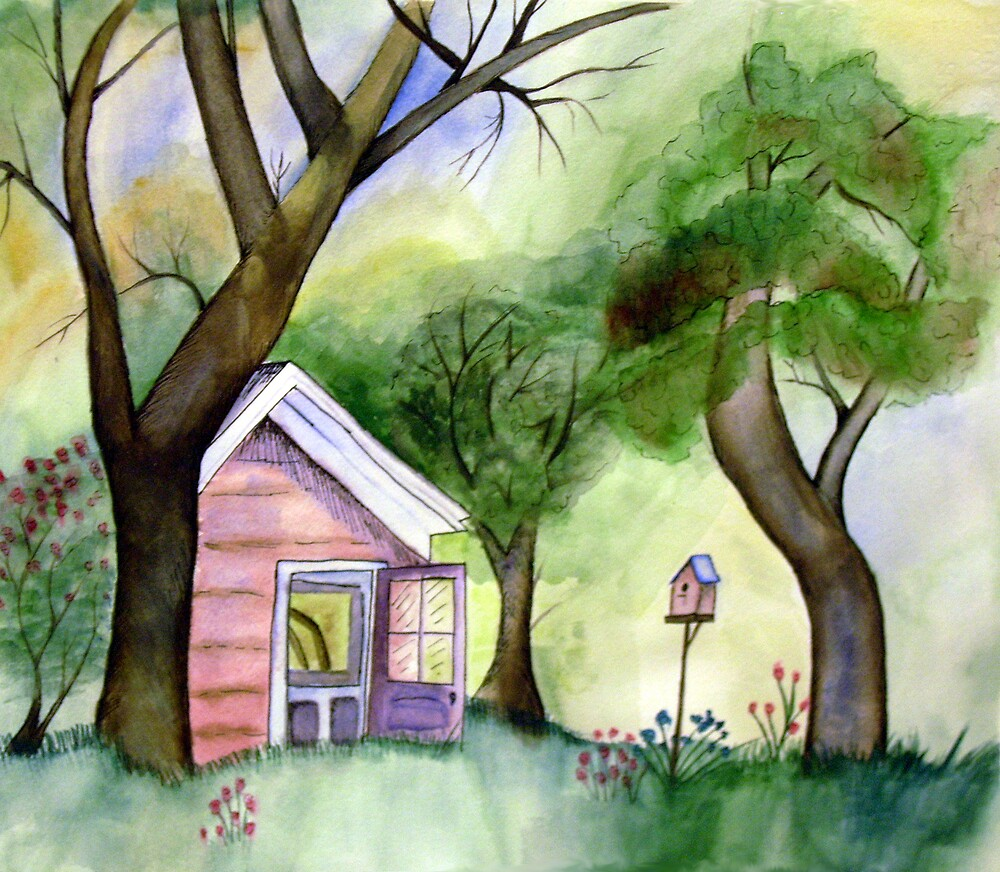 In Between the Trees by selanikioa