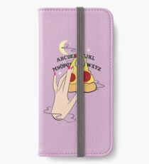 Ouija Pizza iPhone Wallet/Case/Skin