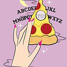 Ouija Pizza by prouddaydreamer