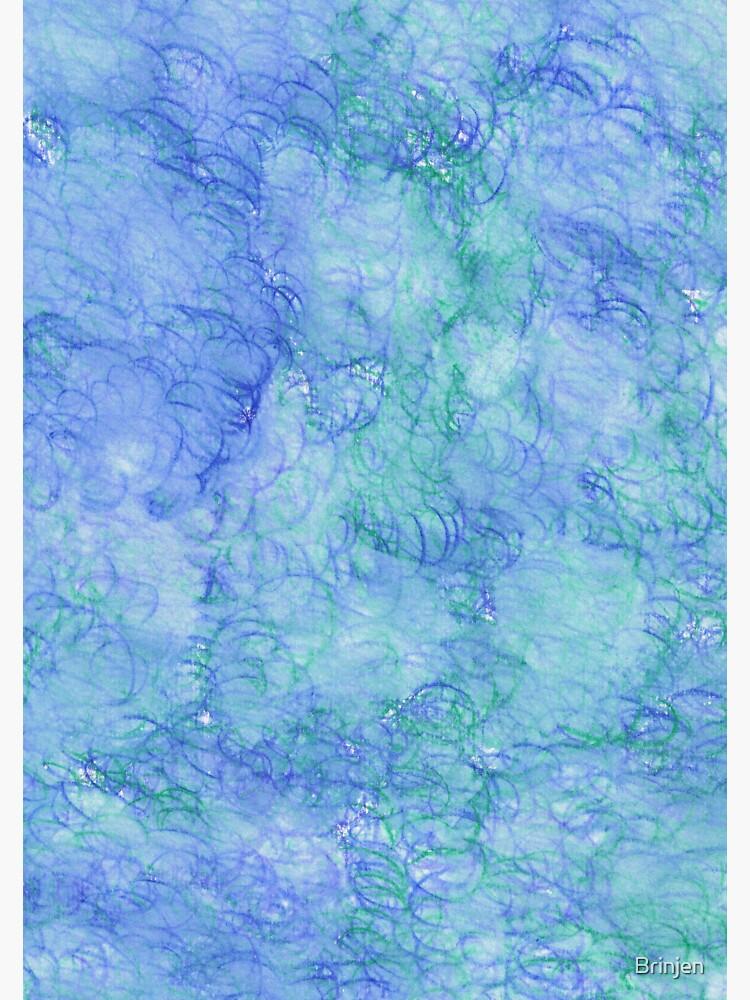 Watercolor Swirls by Brinjen