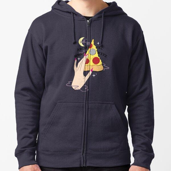 Ouija Pizza Zipped Hoodie