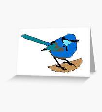 Splendid Fairy-wren Greeting Card