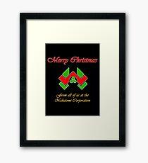 Nakatomi Christmas Framed Print