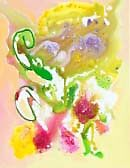Abstract flower by Ruth Vilmi
