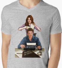Murder He Wrote Men's V-Neck T-Shirt