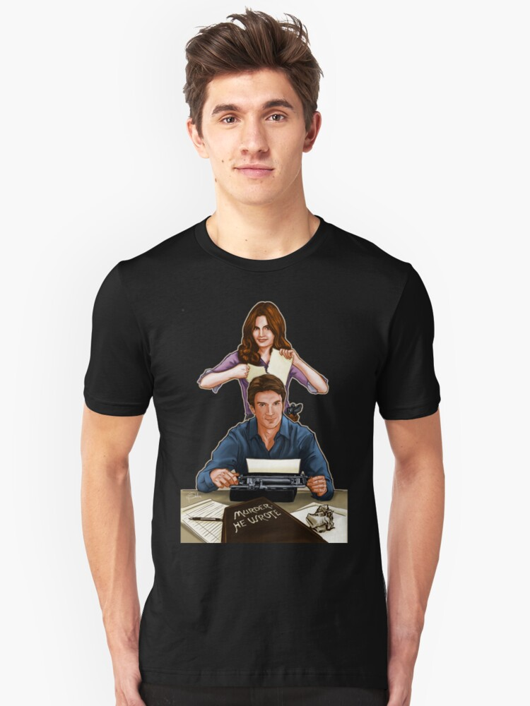 Murder He Wrote Unisex T-Shirt Front