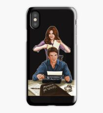 Murder He Wrote iPhone Case