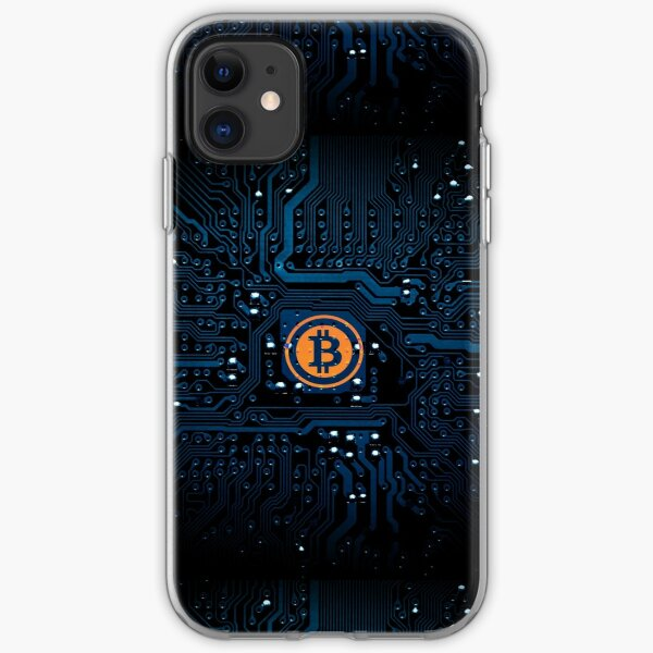 Bitcoin Bits iPhone Soft Case